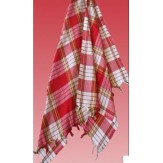 Полотенце пештемаль для хамама Osmanli Muslugu Классика красное