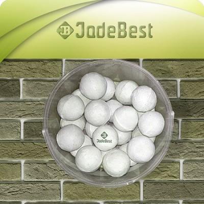 Фарфоровые шары для бани d=60 мм для бани и сауны, 1 кг