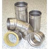 Комплект из нержавеющей стали для подключения потребителя к дымоходной системе Schiedel UNI20