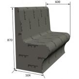 Сидение РПГ Comodo на основе 3D полистирола