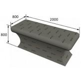 Стол массажный РПГ на основе 3D полистирола