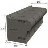 Скамья РПГ Piccolo на основе 3D полистирола