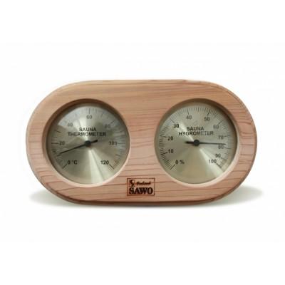Термогигрометр для сауны и бани Sawo 222-THD