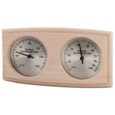 Термогигрометр для сауны и бани Sawo 271-ТНА осина