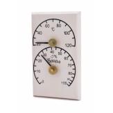 Термогигрометр Sawo 106-THВА осина