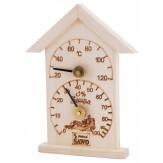 Термогигрометр Sawo 116-THА осина