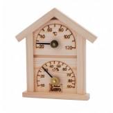 Термогигрометр Sawo 126-THР сосна
