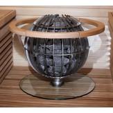 Защита полка стеклянная для Harvia Globe